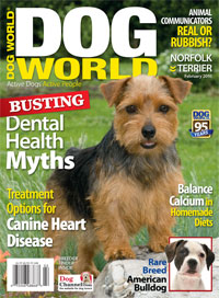 Image of Dog World's February issue